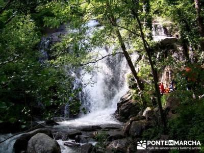Valle del Jerte - Cascada de los Nogaledas; equipamiento para senderismo